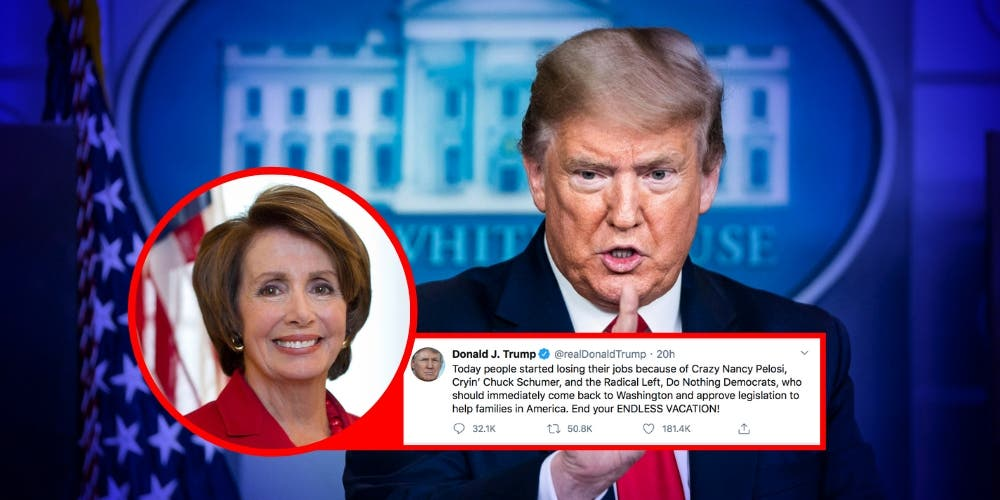 Whose Fault Is The Crisis — Crazy Nancy Pelosi or Cryin' Chuck Schumer?