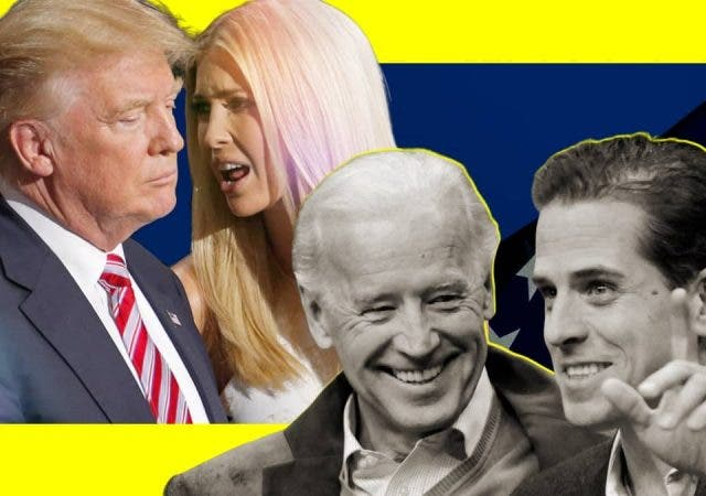 Children Of Greater Gods: Hunter Biden Vs Ivanka Trump