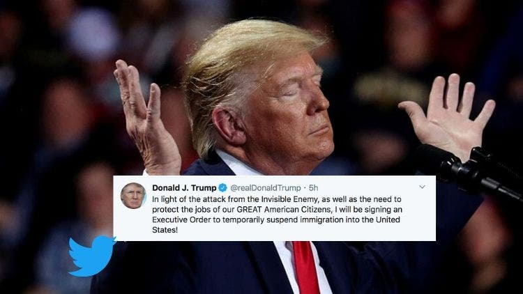 Breaking News: Trump Suspending All Immigrations Into The United States