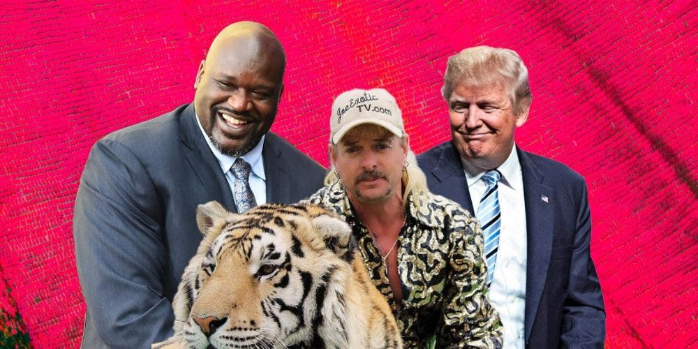Pardon Joe — Tiger King Sets Up An Exotic Media Trial Featuring Shaq And Trump