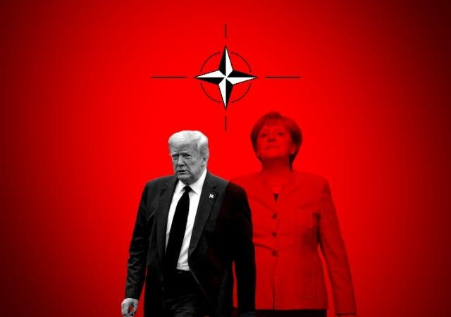 Trump pulling out of NATO impact on Merkel and Europe