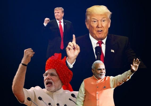 Donald Trump, Narendra Modi similarities reelection campaign