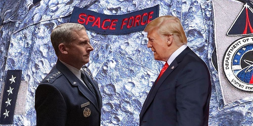 Netflix Space Force Trump