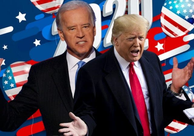 Trump And Biden Coronavirus Crises US Elections 2020