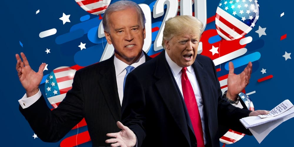 What If — Trump (73) Biden (78) Contract Coronavirus In The Lead-up To US Elections 2020