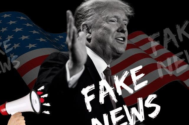 Donald Trump's War with Fake News