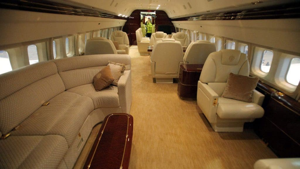 Most Luxurious Private Jet In the World Is Owned By The Presieent Of America
