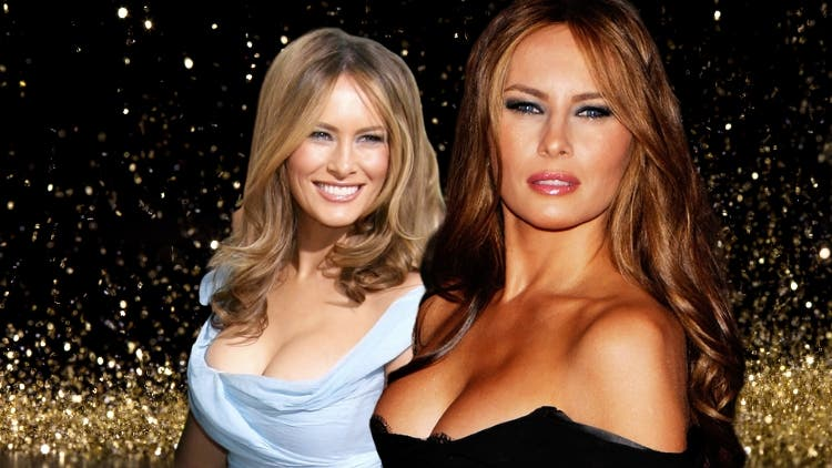 Gorgeous Melania Trump and Trump's Trophy Wife