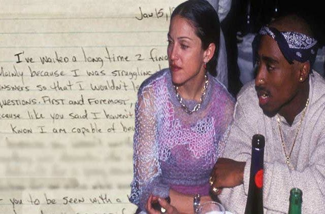 Tupac-Shakur-Madonna-Love-Letter-Hollywood-Entertainment-DKODING
