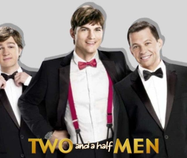 Two and a half men and the ranch