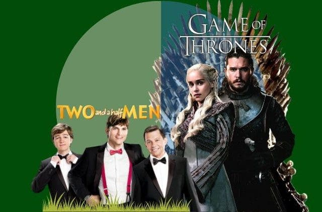 Two And A Half Men Westeros of GOT