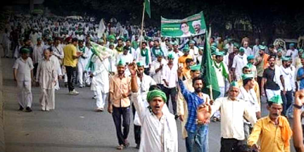 UP Farmers Protest Kisan Ghat In Delhi More News DKODING
