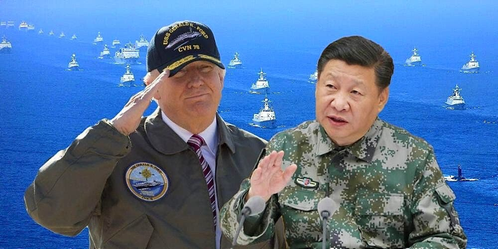 US China Military Conflict
