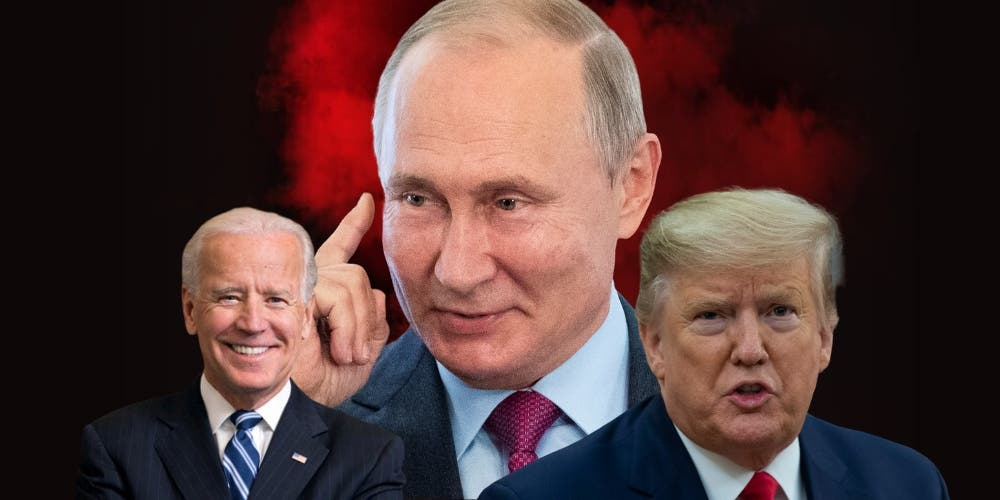 russian interfering in US elections 2020