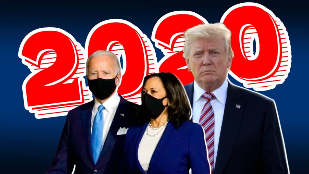 US Presidential Election 2020 Trump Vs Biden
