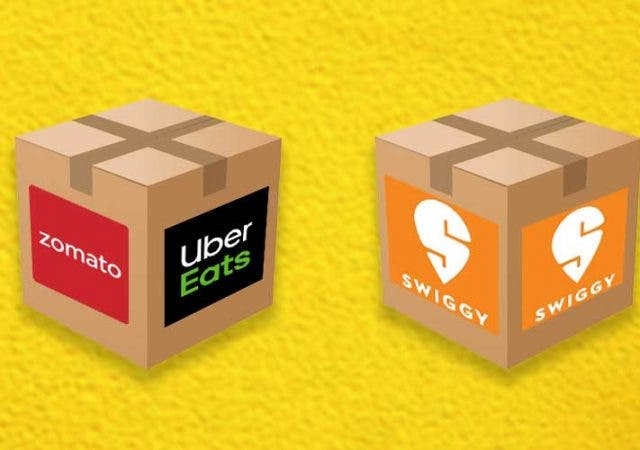 Zomato UberEats Acquisition Advantage Swiggy