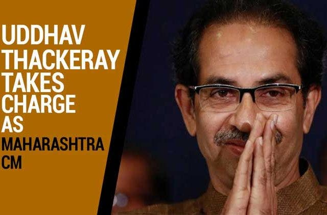 Uddhav-Thackeray-takes-charge-as-Maharashtra-CM-Videos-DKODING