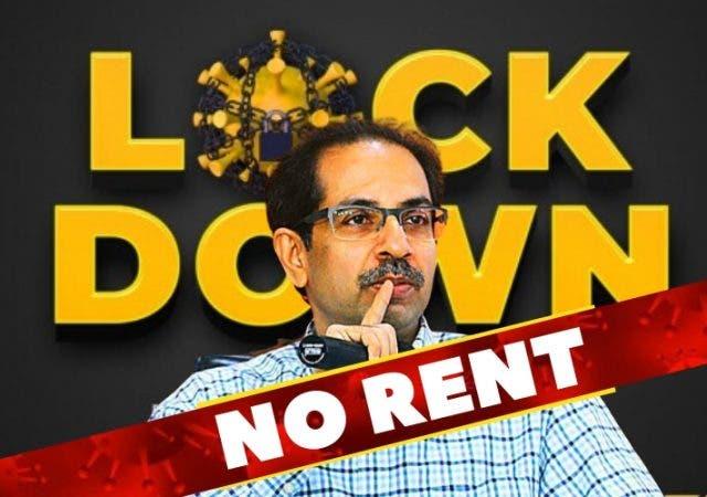 No Rent Uddhav Thackeray