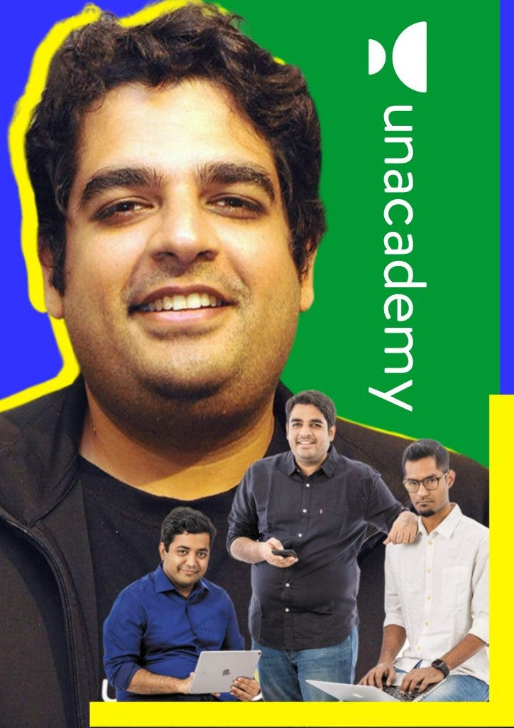 Unacademy Founder poster