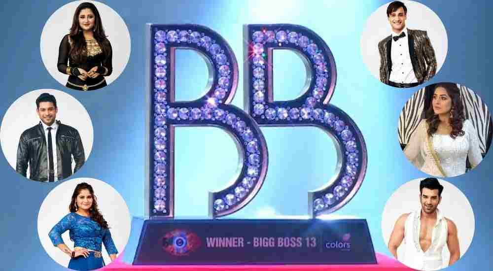 Bigg Boss Top 6 Contestants