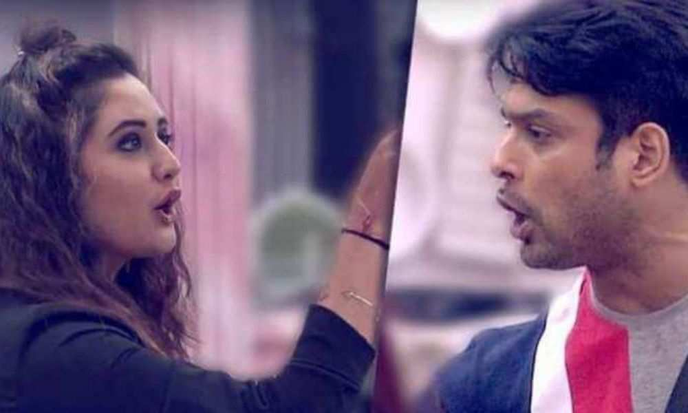 Siddharth Shukla and Rashami Desai's fight is famous inside and outside of the house