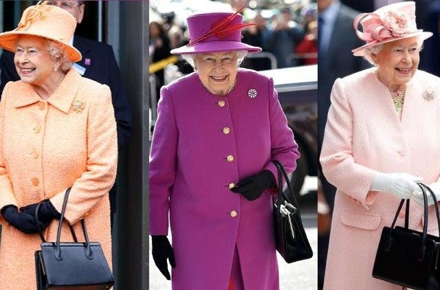 Queen Elizabeth II secret signals