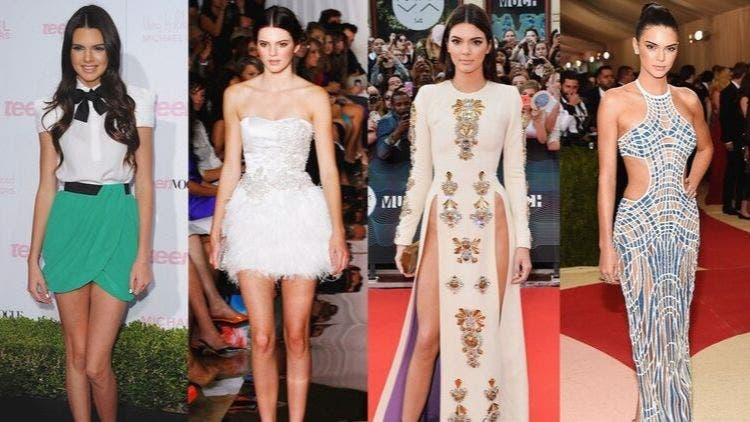 Sexy Kendall Jenner's Fashion Evolution- 2008 to 2019