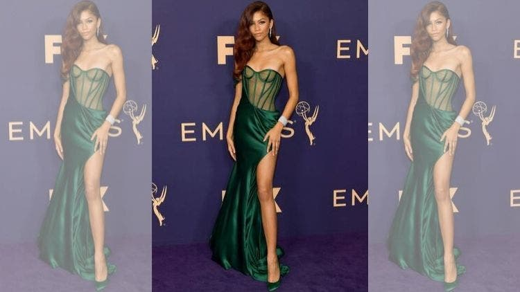 Zendaya-Emmys-Green-Mermaid-Fashion-And-Beauty-Lifestyle-DKODING