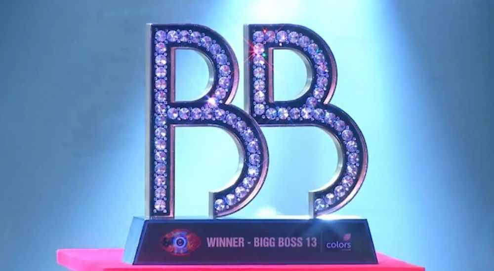 The makers revealed Bigg Boss Season 13 Trophy