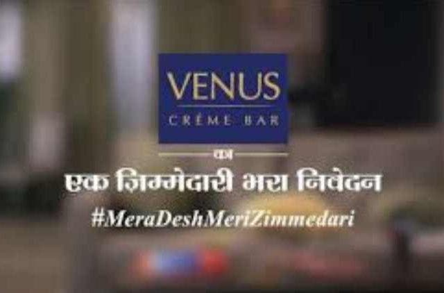 Venus-Creme-Bar-Asks-Citizens-To-Vote-MeraDeshMeriZimmedari-Companies-Business-DKODING
