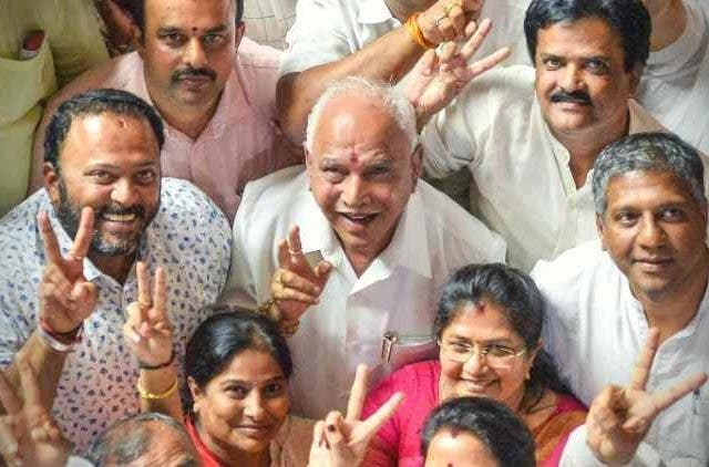 Victory-Democracy-B-S-Yeddyurappa-India-Politics-DKODING