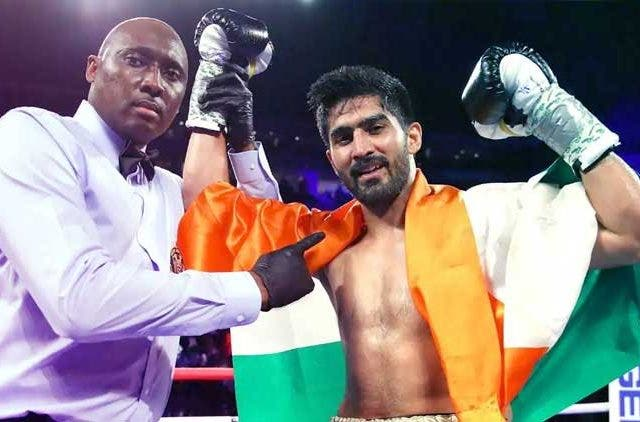 Vijender-Singh-Indian-Pro-Boxer-vs-Snider-In-USA-Boxing-Others-Sports-DKODOING