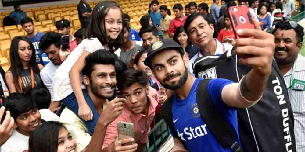 Virat Kohli Fans Cricket Sports DKODING
