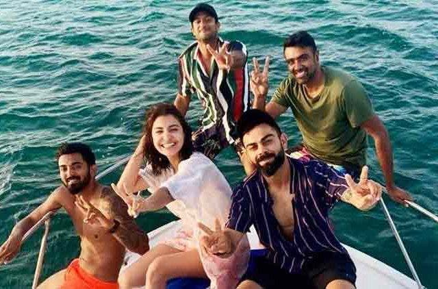 Virushka-Indian cricket boys-Bollywood-Entertainment-DKODING