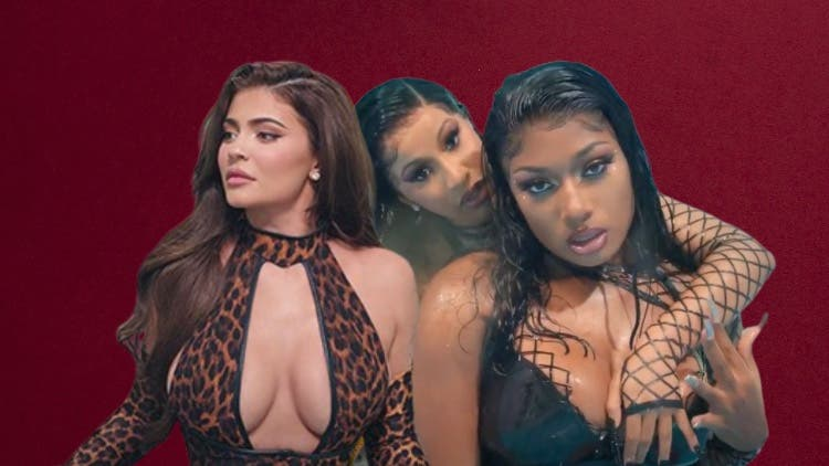 Celebrity News Wrap: Kylie In Cardi B, Megan Thee Stallion Video; Rapper Denies Rape; And More