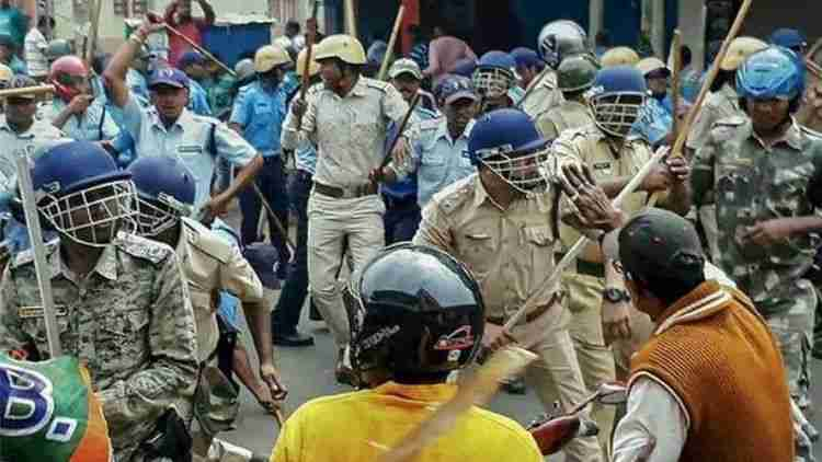 WB-11-Cops-Locals-Injured-During-Clashes-Cooch-Behar-India-Politics-DKODING