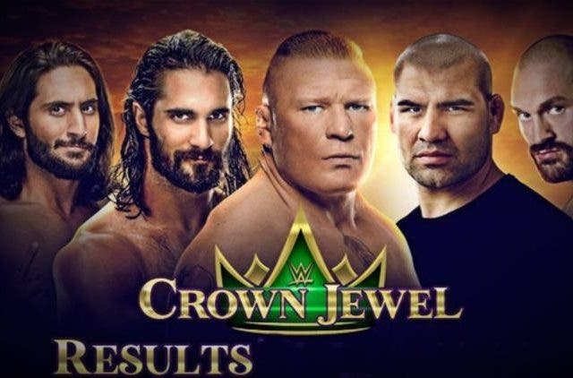 WWE Crown Jewel Other DKODING