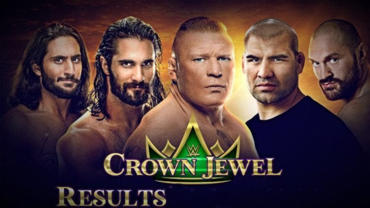 5 Epic Fights from WWE Crown Jewel 2019