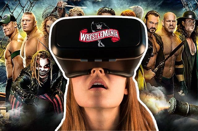 WWE WrestleMania Virtual Reality DKODING