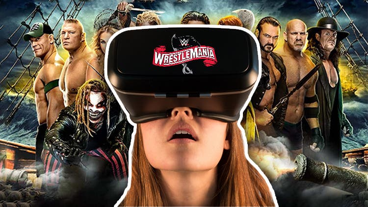 No Fans? No Problem! — WWE WrestleMania 36 Makes History With Virtual Reality