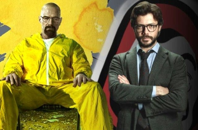 Breaking Bad and Money Heist DKODING