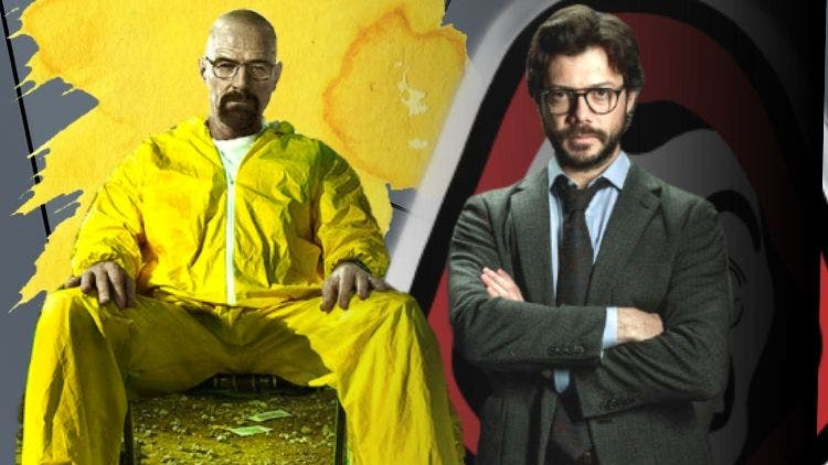 Yes It's Happening! Breaking Bad's Walter White To Crossover The Money Heist  Gang In Season 5