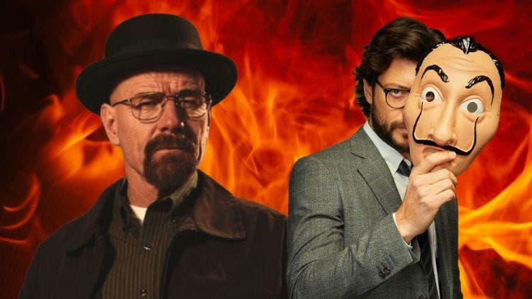 The Clash Of Two Great Minds: Money Heist's Professor Takes On Breaking Bad's Walter White