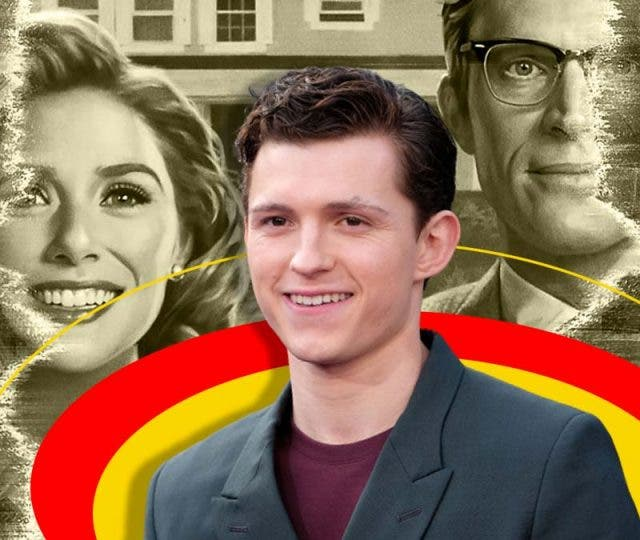 Accidental Spoiler Machine Tom Holland say this about 'WandaVision' finale