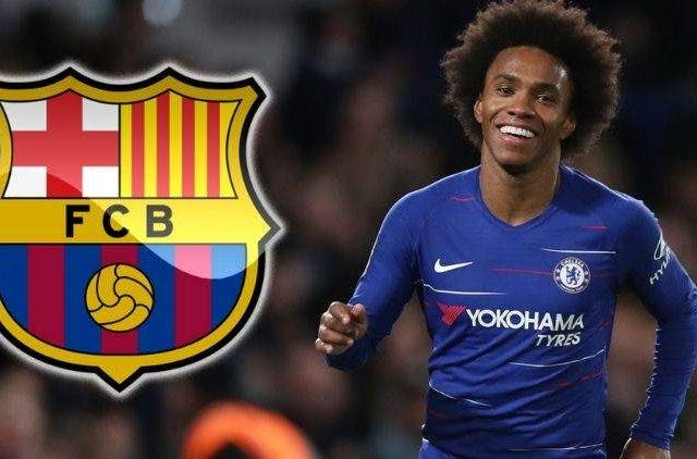 Willian Chelsea Barcelona Football Sports DKODING