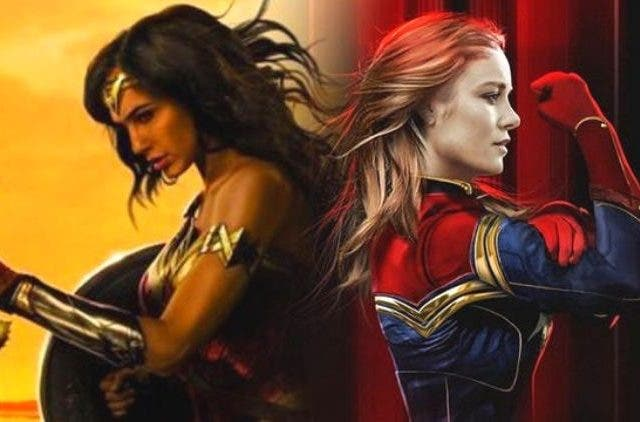 Wonder Woman and Captain Marvel DKODING