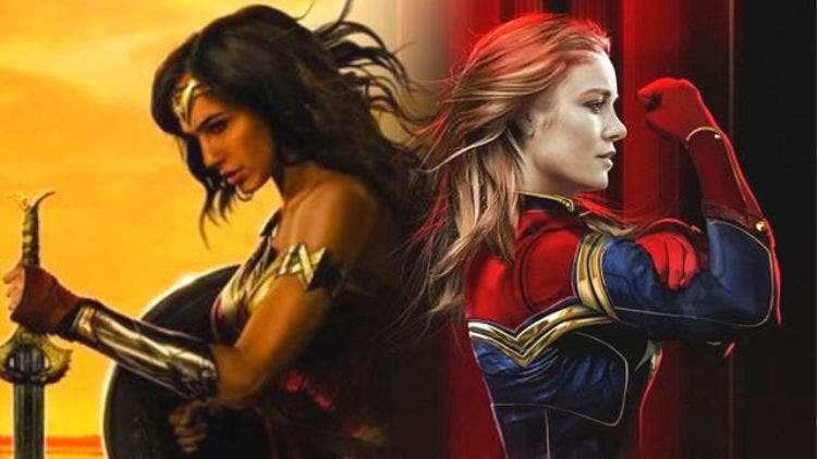 Marvel Vs DC: Captain Marvel And Wonder Woman Ready For The Biggest Showdown