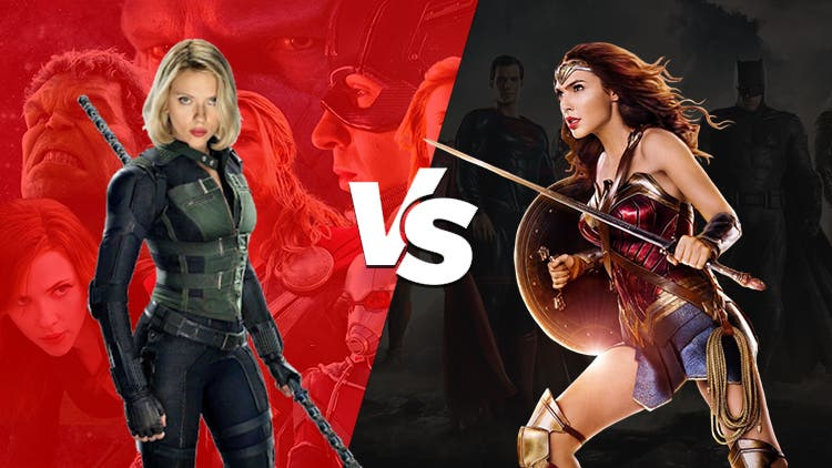 DC's Wonder Woman Will Be A Punch In The Face Of Marvel's Black Widow