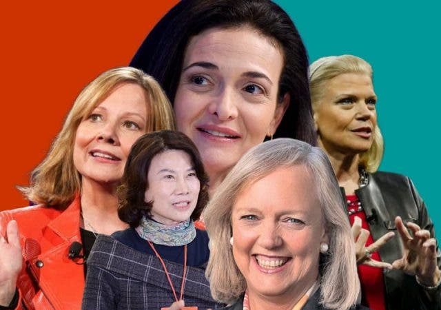 World's Most Powerful White Collared Women 2020