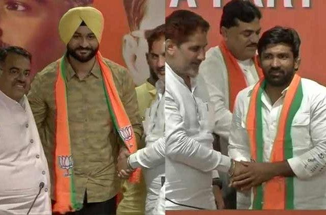 Yogeshwar Dutt Captain Sandeep Singh Join BJP India DKODING